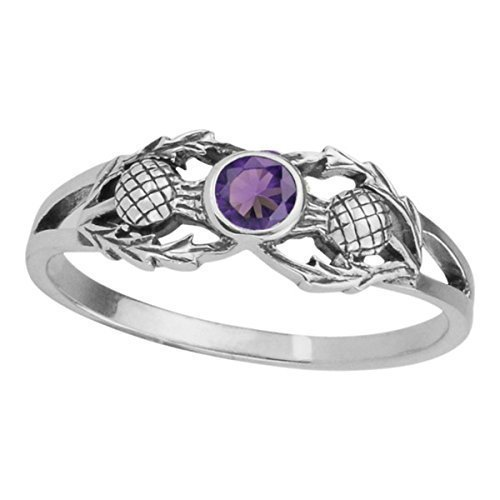 In4aDig Unisex -  925 Sterling  Silber       National Silver Thistle
