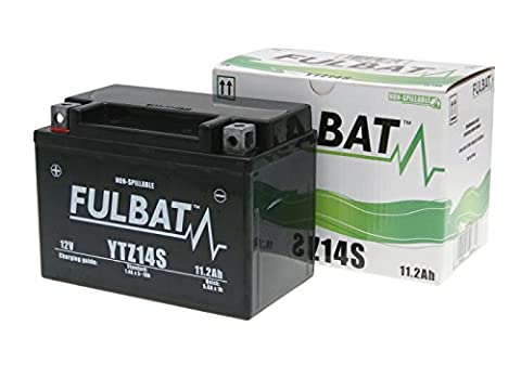 Batterie Fulbat YTZ14S Gel für Yamaha FZ1 1000 N Bj. 2009 inkl. 7,50 EUR Batteriepfand