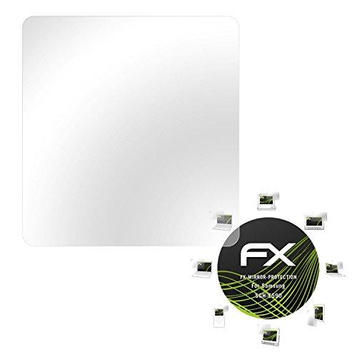 Samsung SGH-E590 Spiegelfolie - atFoliX FX-Mirror Displayschutz mit Spiegeleffekt