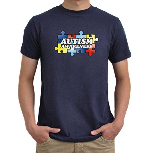 Maglietta Autism Awareness Blu navy