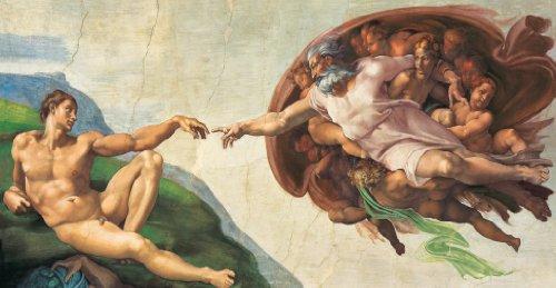 Clementoni 38004.6 -  Michelangelo - Erschaffung Adams 13200 teilig