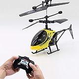 HBOY Jouet électrique éducatif pour Enfants modèle Mini-Drone hélicoptère Drone Anti-Chute King Mini-Yellow