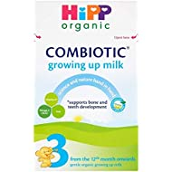 HiPP Organic 3 From 1 year onwards Growing up milk 600g (Pack of 4)