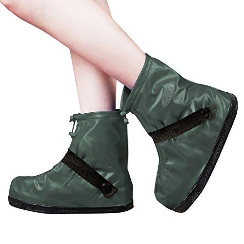 SANKE Regen Schnee Schuhe Wasserdichte Anti-Rutsch-wiederverwendbare Abdeckungen Frauen Männer Kinder