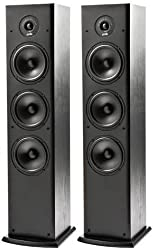 Polk Fusion Series T50 Floorstanding Towers(Black) - Set of 2