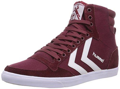 hummel HUMMEL SL STADIL CANVAS HI, Unisex-Erwachsene Hohe Sneakers, Rot (Cabernet 3661), 44 EU