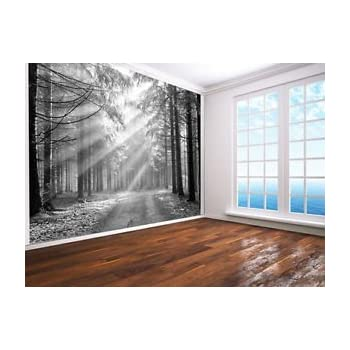 Beautiful winter forest scene snow trees light switch cover Home, Furniture & DIY 48491600 Furniture Stickers