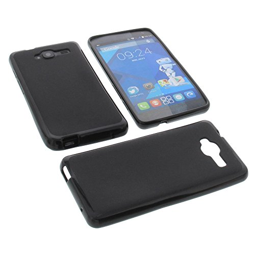 protective-case-for-haier-voyage-g31-rubber-tpu-mobile-phone-cover-black