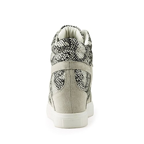 Automne/hiver chaussures avec mosaïque serpentine/Augmenté de casual chaussures femme A