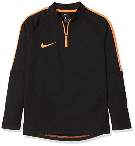 Nike Kinder Dry Academy Drill Top Black/Cone, S