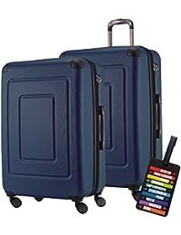 Vano Amazon It E Valigie Scarpe Trolley Qweftxat Viaggio Set Da nIC4Eqx5 6df0f96b55d