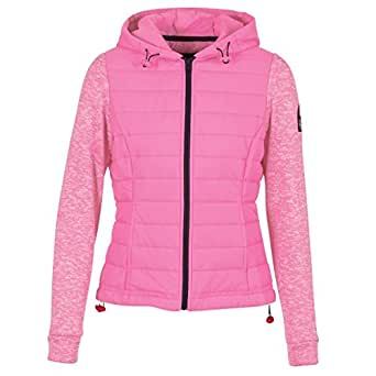 88ede4353922a Superdry Sweat à Capuche Storm Hybrid Vibe Pink  Amazon.fr ...