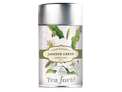 Tea Forte Jasmine Green - Thé vert bio au jasmin en vrac - 100 g by Tea Forté