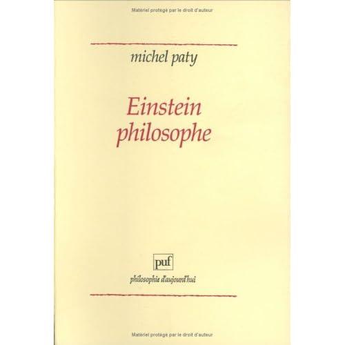 Einstein philosophe : La physique comme pratique philosophique