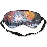 Sleep Eye Mask Space Painting Lightweight Soft Blindfold Adjustable Head Strap Eyeshade Travel Eyepatch E9 preisvergleich bei billige-tabletten.eu