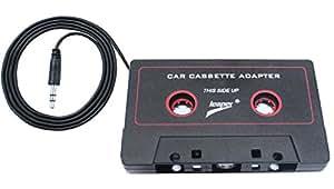 Leaper Adattatore universale per auto, con Jack maschio da 3,5 mm 0,91 Meters-Cavo per iPod, iPad, iPhone, Samsung, MP3, Mobil dispositivo, colore: nero