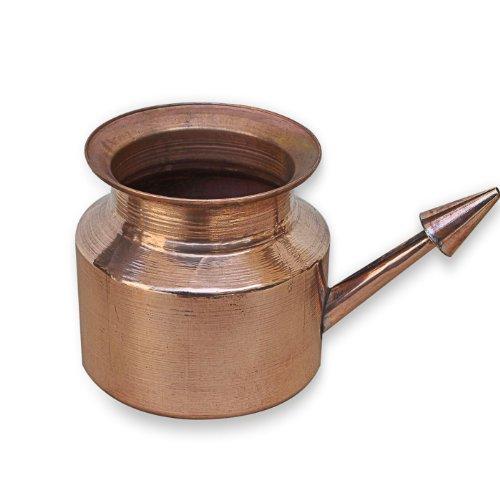 Neti Pot Kupfer für Sinus Bewässerung (Net E Pot)