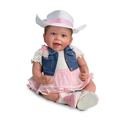 (Kleines Cowgirl Carla - Babypuppe im Country-Stil von Linda Murray)