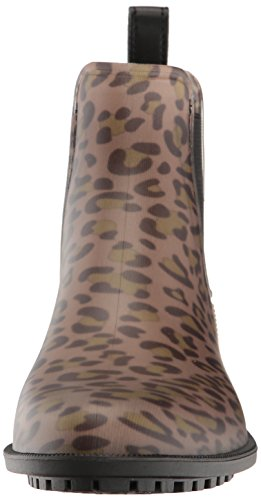 Joules Femmes Leopard Spot Rockingham Chelsea Bottes en Caoutchouc Léopard