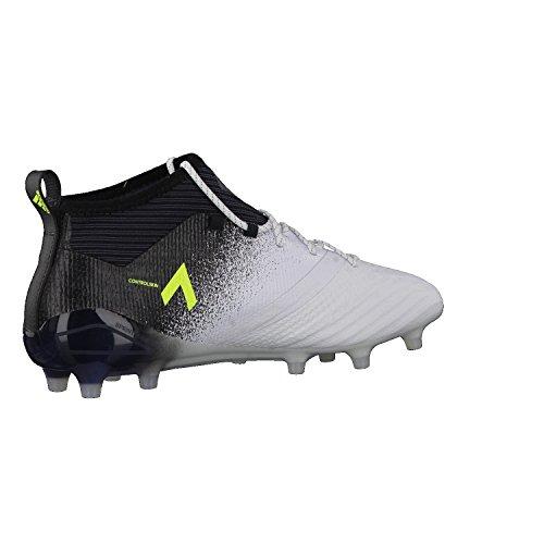 Adidas Herren Ace 17.1 FG Fußballschuhe, Mehrfarbig (Ftwr White/Solar Yellow/Core Black), 42 EU -
