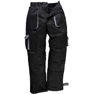 Portwest – Pantalones de trabajo hombre/caballero – Construcción/Industria/Campo
