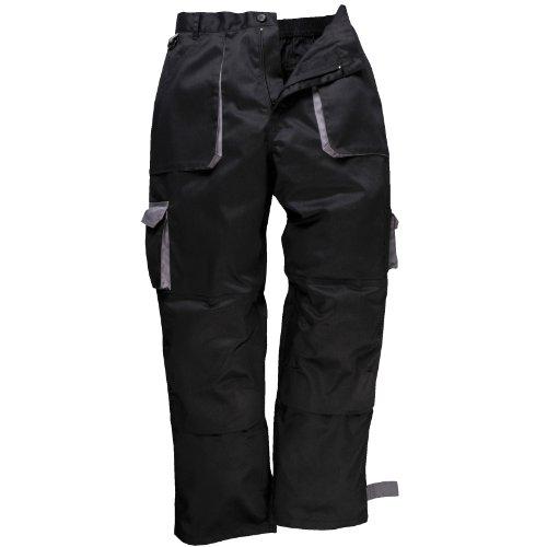 Portwest - Pantalon de travail - Homme (S) (Noir)