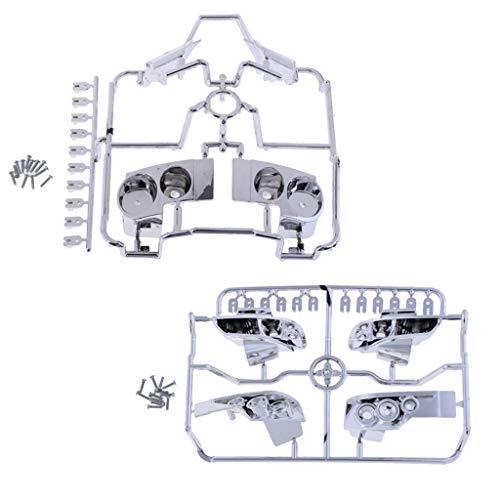 BeHave Sbk71205/W de Voiture Tasse deau Cadre Auto Gear Panneau Coque Auto Central Console Gear Panneau Moulure chrom/ée ABS Bordure pour Nissan Xtrail