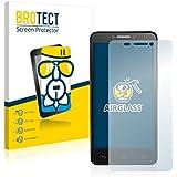 BROTECT AirGlass Protector Pantalla Cristal Flexible Transparente para Alcatel One Touch Idol 6030X OT-6030X Protector Cristal Vidrio - Extra-Duro, Ultra-Ligero, Ultra-Claro