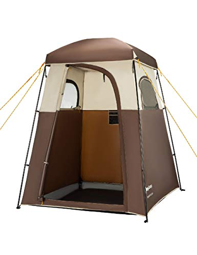 MDZH Zelt Camp Zelt Große Dusche Campingzelt Tragbare Dressing Umkleidekabine Dusche Privacy Shelter Zelt Camping Wc Zelt