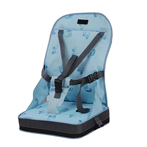 Baby Boostersitz mobiler aufblasbarer Kindersitz als Sitzerhöhung Stuhl Kindersitzerhöhung und Reisesitz, ideal als Hochstuhl für unterwegs für Babys und Kleinkinder (Blau) (Portable Hochstuhl Sitzerhöhung)