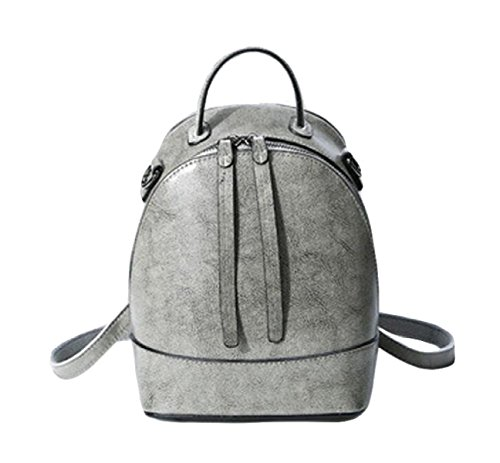 Ms. Messenger Bag Borsa Di Modo Borsa A Tracolla In Pelle Grey