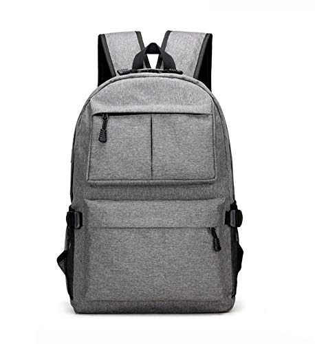820678d45724 Roffatide Multifunction Business Travel Laptop Backpack with USB Charging  Port for Men Gray