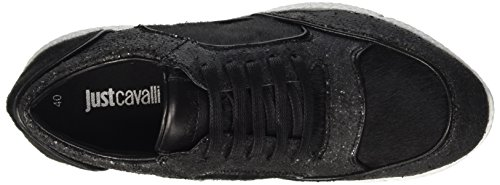Just Cavalli Jc Main Coll, Sneakers basses femme Nero( 900 Black )