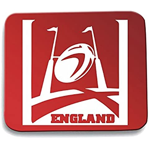 Cotton Island - Tappetino Mouse Pad TRUG0155 england rugby logo,