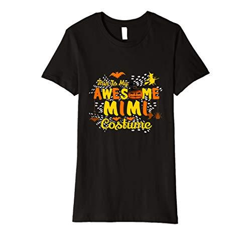 Damen Damen This is my Awesome Mimi Kostüm Scary T Shirt