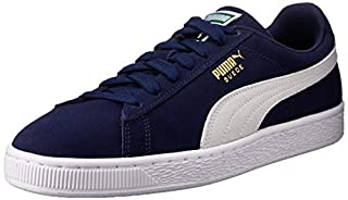 Puma - Suede Classic - Baskets Mode - Mixte Adulte - Bleu (Peacoat/White 51) - 41 EU (B00PAJNAZS) | Amazon Products