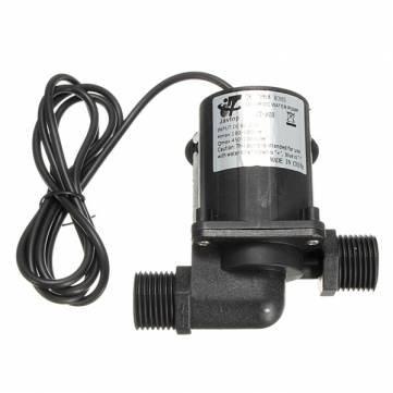 magnétique 12V DC sans balai électrique pompe à eau centrifuge 3m fontaine
