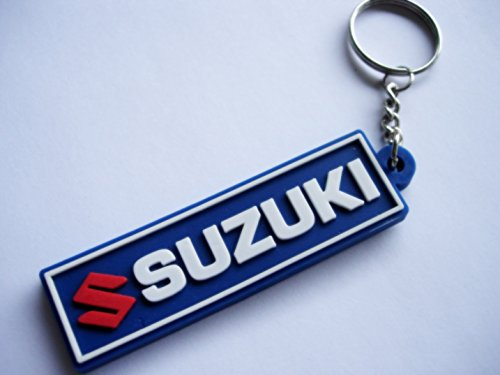 Keychains llavero Suzuki Blue Motocross