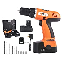 BMB TOOLS Cordless Drill 18V NiCD 10mm - Two Batteries