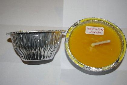 Amafino Citronella Flammschale 10 Stück 10 cm Brenndauer ca. 24 Std. Garten Gartenkerzenlicht Partylicht Grill