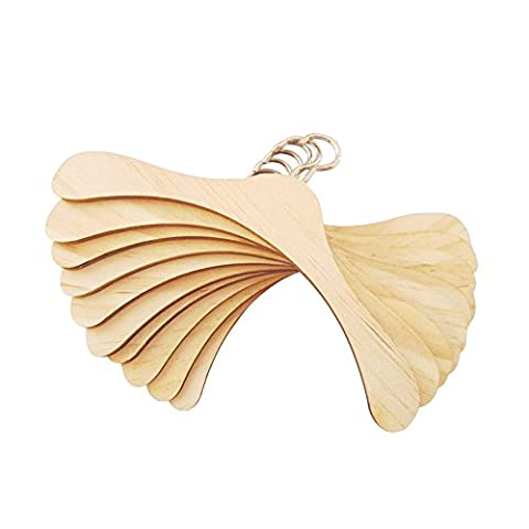 Farvision Girl® Wooden Doll Clothes Hangers Non-slip 1/3 BJD Doll Accessory Fits 18
