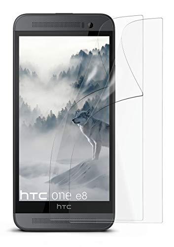 2X HTC One E8   Schutzfolie Matt Display Schutz [Anti-Reflex] Screen Protector Fingerprint Handy-Folie Matte Displayschutz-Folie für HTC One E8 Displayfolie