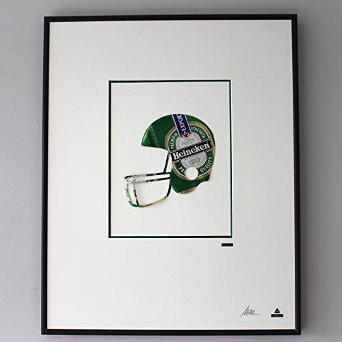 martin-allen-peut-art-heineken-casque-de-football-americain-grand-cadre-photo-en-aluminium