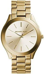 ساعة مايكل كورس رفيعة رنواي من الستانلس ستيل كوارتز للنساء