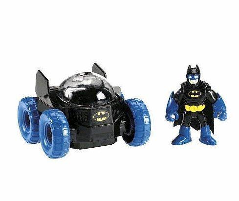 Fisher-Price Imaginext DC Super Friends Figur - Batman mit Mond Rover von Fisher-Price -