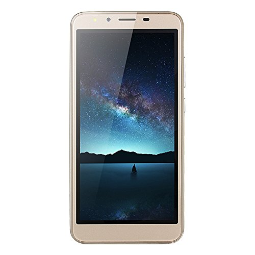 Prevently 7s Plus Smartphone Android 6,0-5,5 Zoll Ultradünne MTK6750 Acht Kern 512 MB + 4G WiFi Dual-SIM-Dual-Kamera-Smart-Mobiltelefon (Gold)