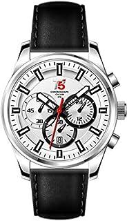ساعة من تي فايف للرجال [جلد،كرونوغراف] -H3378G-B