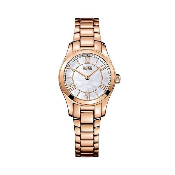 92ab62a9301e Hugo Boss 1502378 – Reloj con correa de piel para mujer ...