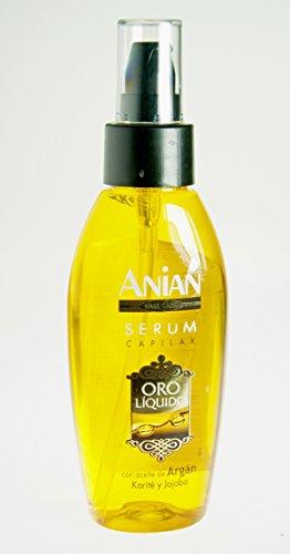 Anian Oro Líquido con Olio di Argan Serum per Capelli - 100 ml