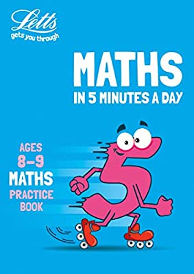 Letts maths in 5 minutes – Letts maths in 5 minutes age 8-9 by Letts